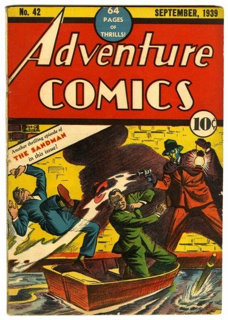95008: Adventure Comics #42 (DC, 1939) Condition: Appar