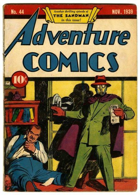 95010: Adventure Comics #44 (DC, 1939) Condition: Appar
