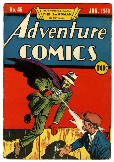 95011: Adventure Comics #46 (DC, 1940) Condition: Appar