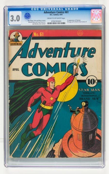 95012: Adventure Comics #61 (DC, 1941) CGC GD/VG 3.0 Cr