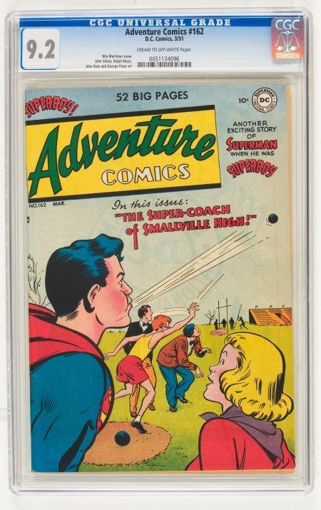 95014: Adventure Comics #162 (DC, 1951) CGC NM- 9.2 Cre