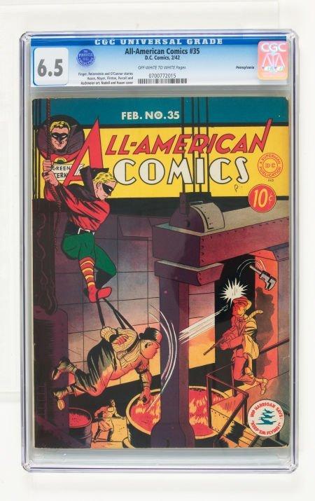 95017: All-American Comics #35 Pennsylvania pedigree (D