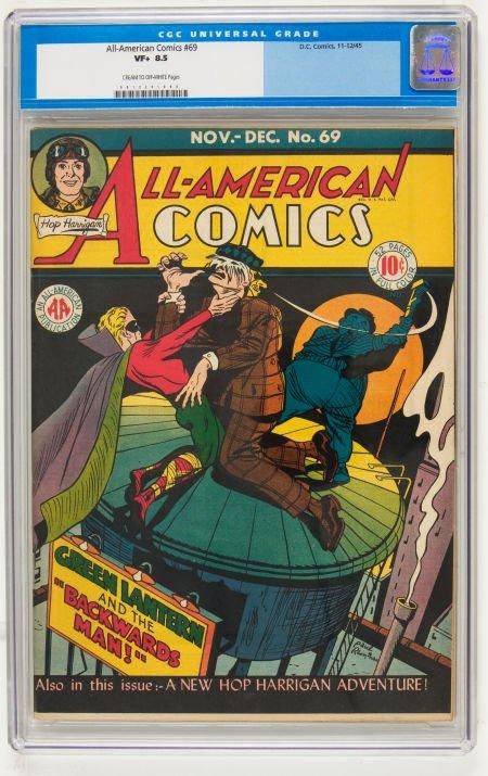 95018: All-American Comics #69 (DC, 1945) CGC VF+ 8.5 C