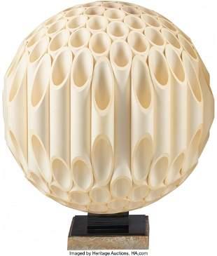 Rougier (Canadian, 20th Century) Sphere Table La