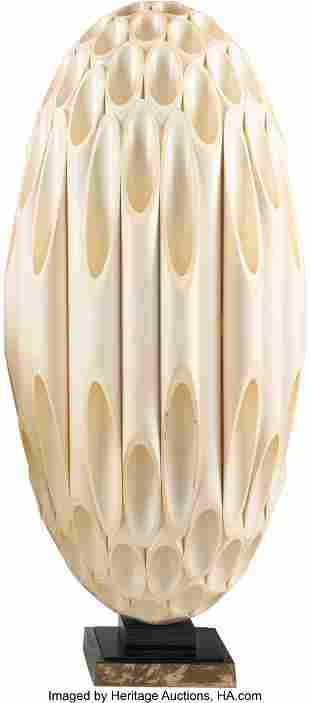 Rougier (Canadian, 20th Century) Oval Table Lamp