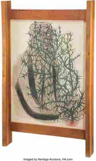 George Nakashima (American, 1905-1990) Frame, ci
