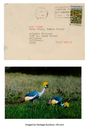 67085: Bruce Conner (American, 1933-2008) Letter to Pet