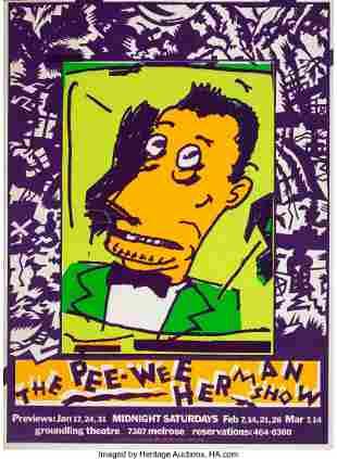 67107: Gary Panter (American, b. 1950) The Pee-Wee Herm
