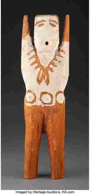 A Navajo Figural Wood Sculpture Charlie Willeto