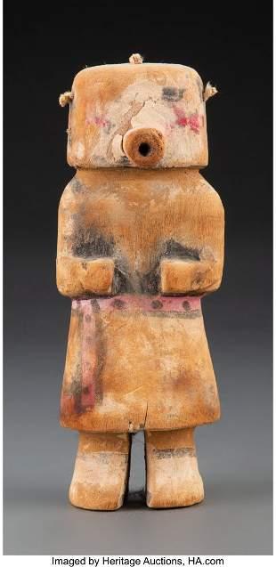 A Hopi Kachina Doll Wilson Tawaquaptewa c. 1945