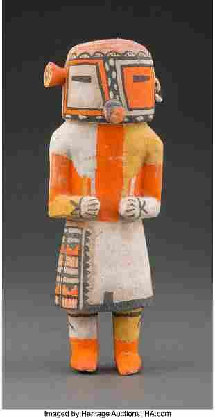 A Hopi Kachina Doll Representing Malo c. 1940