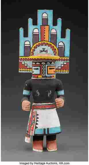 A Hopi Kachina Doll Representing Hemis c. 1950