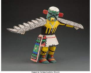 A Hopi Kachina Doll Representing Eagle c. 1950