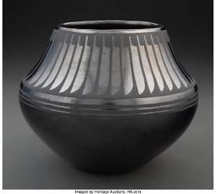 70048: A San Ildefonso Blackware Jar Maria Martinez an