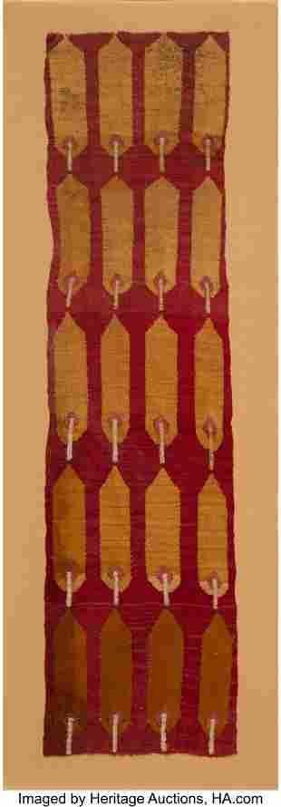 70219: A Chimu Panel Fragment Peru, c. 1100 – 1460 A