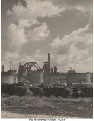 38064: Arthur Smith Gray (American, 1884-1976) Oil Refi