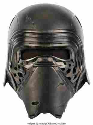 "89227: Toth Gyula ""Kylo Ren"" Stunt Helmet from Star War"