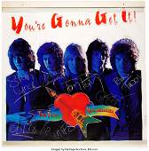 89717: Tom Petty & the Heartbreakers Signed and Inscrib