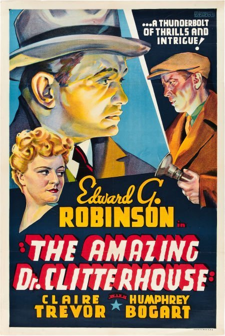 85001: The Amazing Dr. Clitterhouse (Warner Brothers, 1