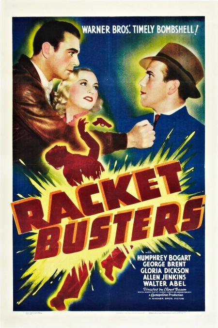 85003: Racket Busters (Warner Brothers, 1938). One Shee