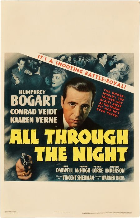 85007: All Through the Night (Warner Brothers, 1942). W