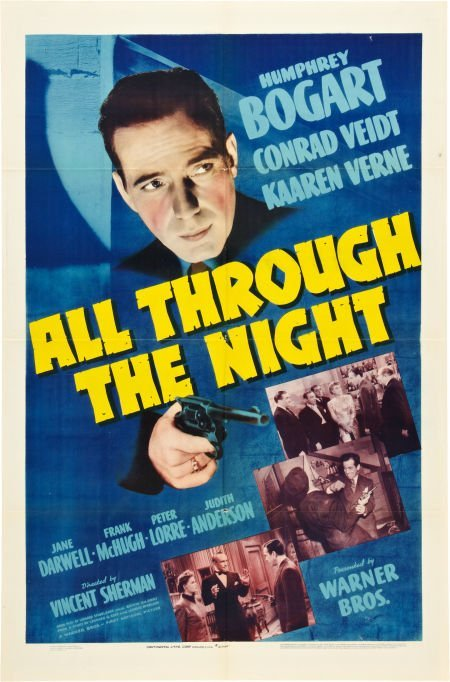 85008: All Through the Night (Warner Brothers, 1942). O
