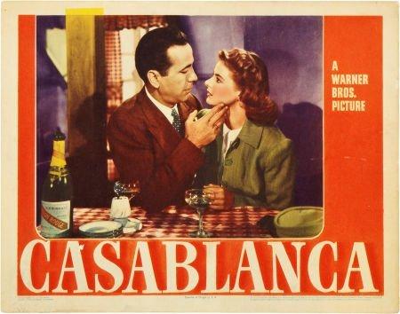 85009: Casablanca (Warner Brothers, 1942). Lobby Card (