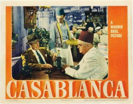 85010: Casablanca (Warner Brothers, 1942). Lobby Card (