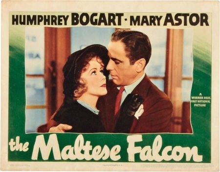 85012: The Maltese Falcon (Warner Brothers, 1941). Lobb