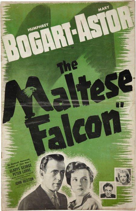 85013: The Maltese Falcon (Warner Brothers, 1941). Pres