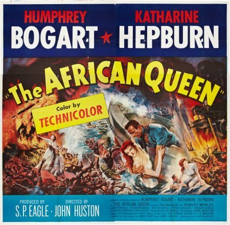 85020: The African Queen (United Artists, 1952). Six Sh