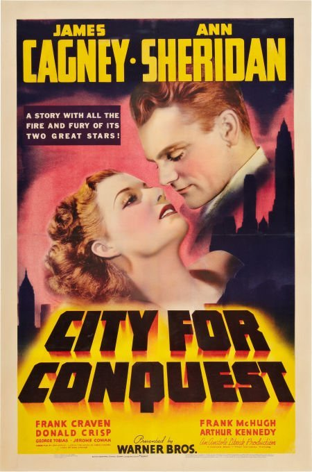 85022: City for Conquest (Warner Brothers, 1940). One S