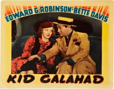 85024: Kid Galahad (Warner Brothers, 1937). Lobby Card