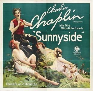"""85539: Sunnyside (First National, 1919). Six Sheet (81"""""""