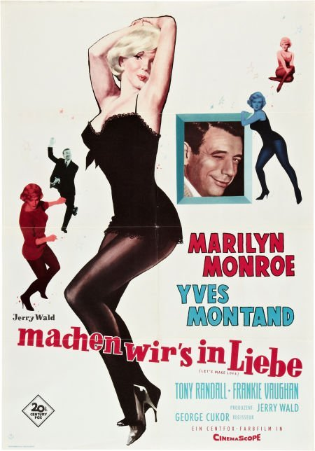 85735: Let's Make Love (20th Century Fox, 1960). German