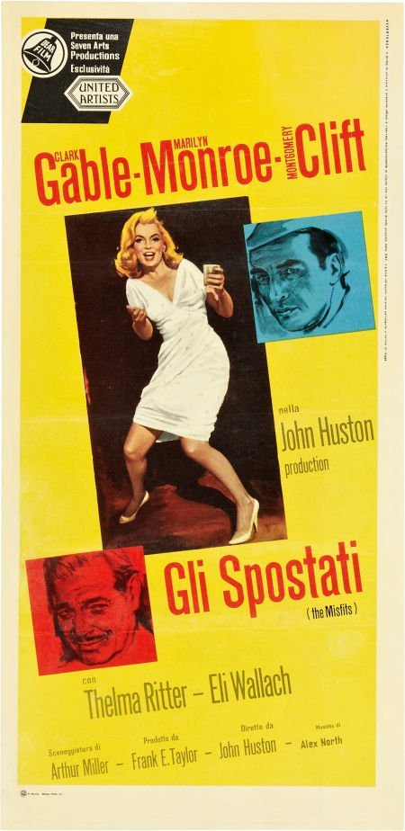 85736: The Misfits (United Artists, 1961). Italian Loca