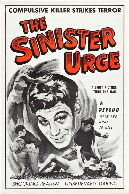 85741: The Sinister Urge (Headliner Productions, 1960).