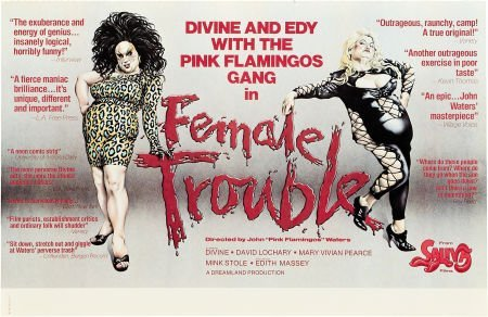 85742: Female Trouble/Desperate Living Lot (New Line, 1