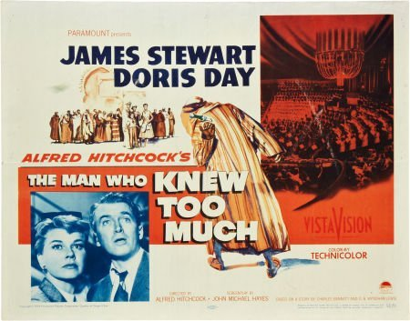 85747: The Man Who Knew Too Much Lot (Paramount, 1956).
