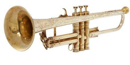 49135: Harry James' Selmer Model 26 Trumpet.