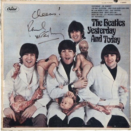 49249: The Beatles - Paul McCartney Signed Yesterday an