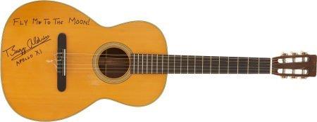 50001: Buzz Aldrin Signed Guitar.