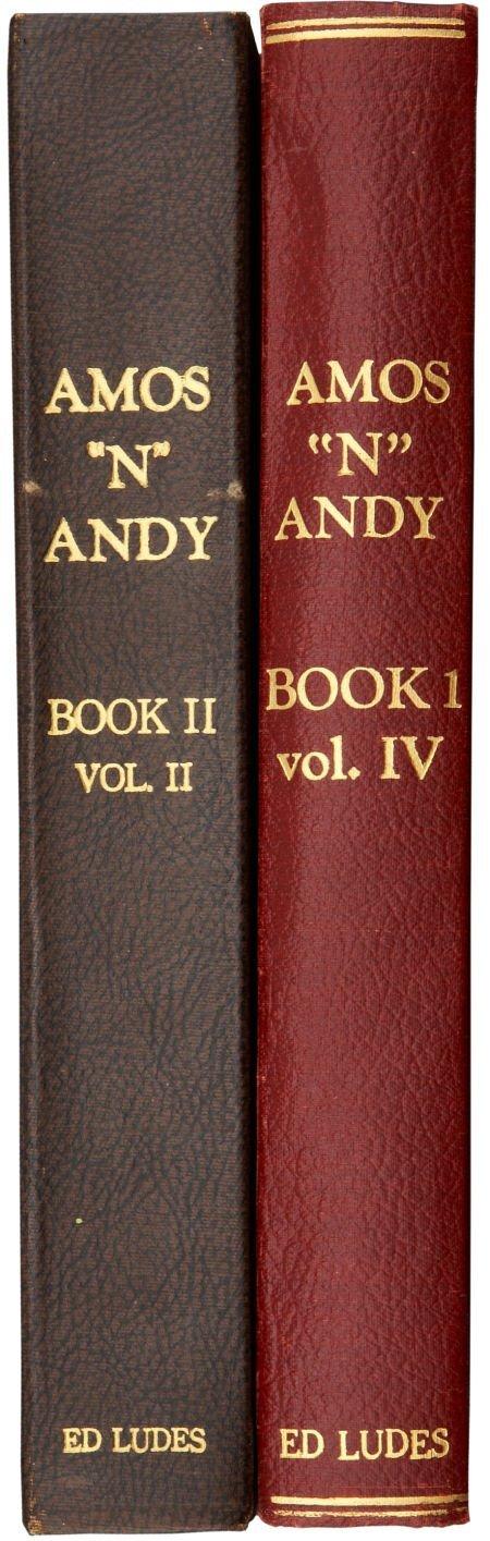 50004: Amos 'N' Andy Radio Show Bound Scripts Volumes.