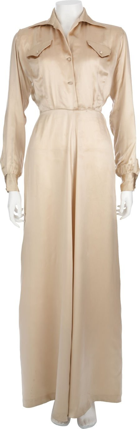 50012: Lauren Bacall's Nightgown From Young Man With a