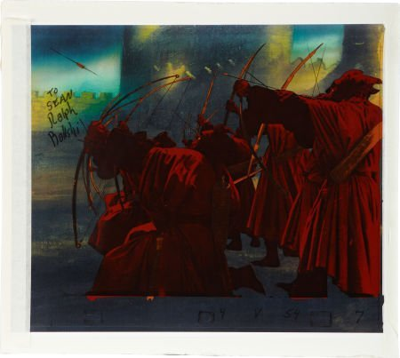 50013: Ralph Bakshi Signed Lord of the Rings Animation