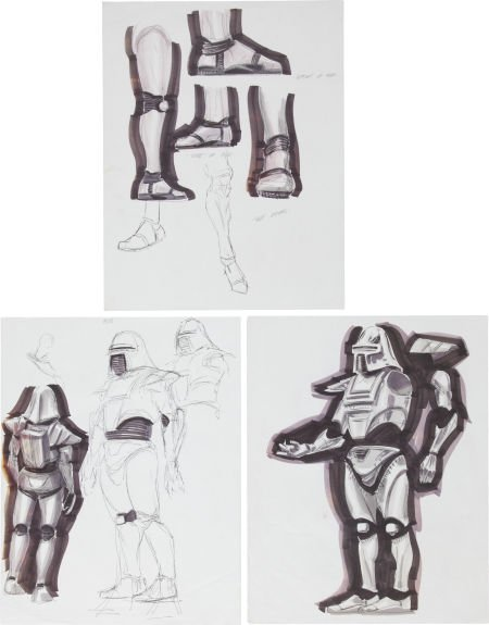 50024: Battlestar Galactica Cylon Design Sketches from