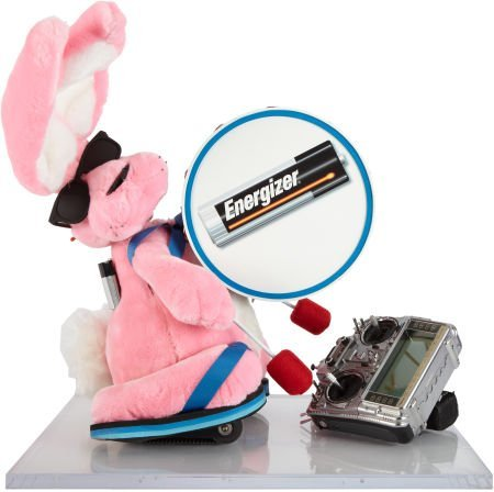 50075: Original Animatronic Energizer Bunny.