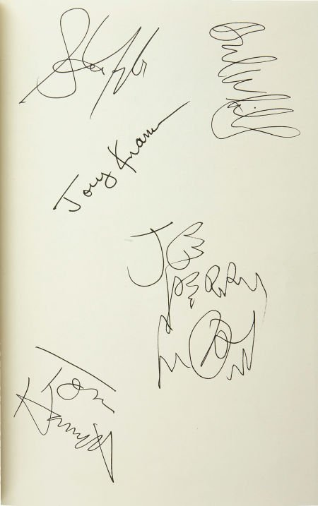51001: Aerosmith Signed Band Autobiography (1997).