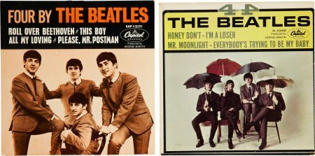 51005: The Beatles EP Group (Capitol, 1964-65).