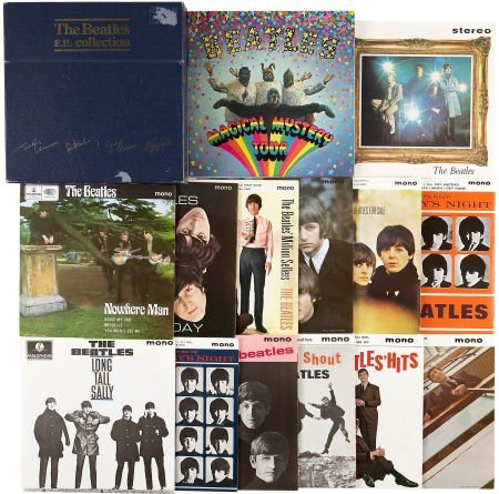 51006: The Beatles EPs Collection Box Set (Parlophone 1